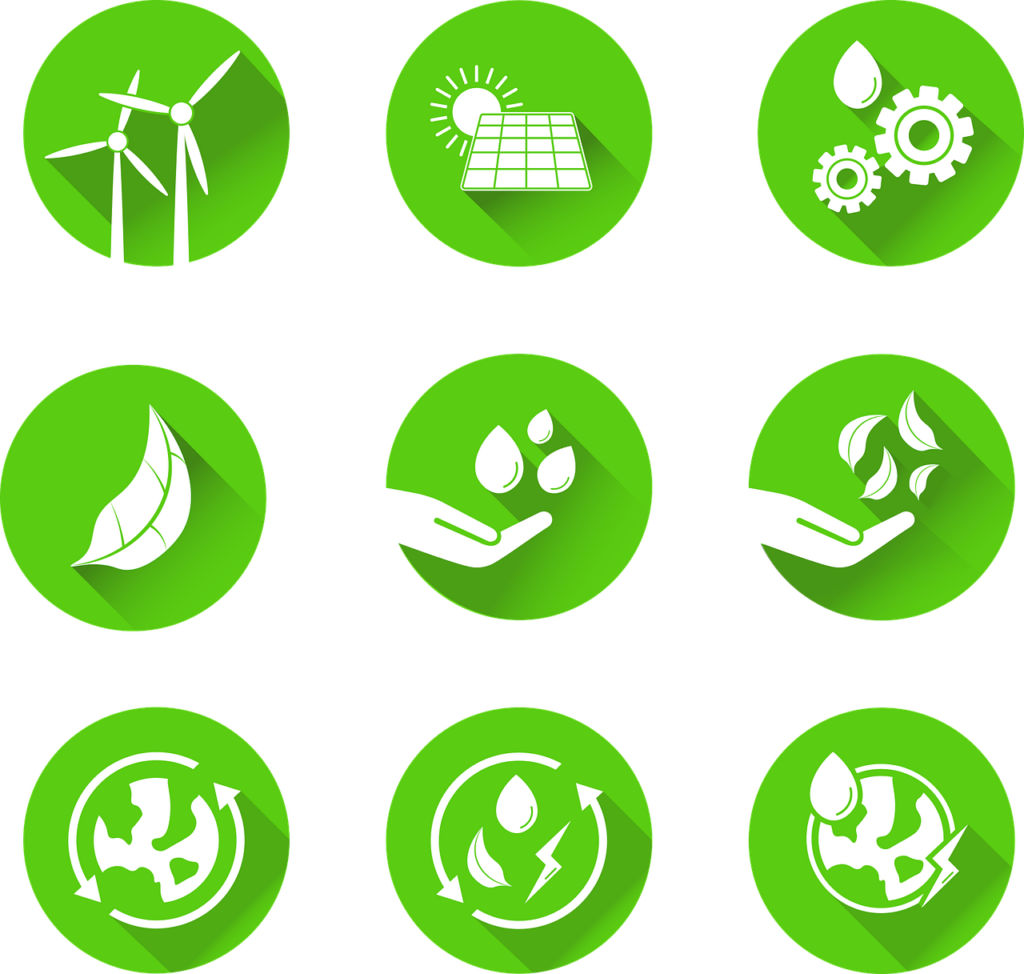 Sustainability Icons Icons Set  - meesgroothuis / Pixabay